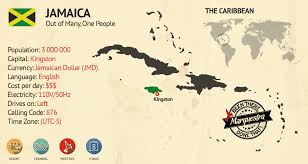 Map Jamaica Couple Travels To Jamaica A Quest To Travel Marquestra