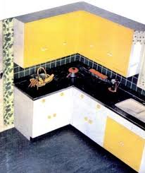 Kitchen Yellow - kitchen trends introduced in the 1950s