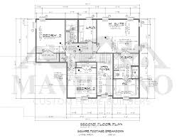 Micro Floor Plans by Floorplans Mavillino Custom Homes