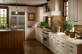 Brookhaven Cabinets Inset White Traditional Kitchen Traditional Kitchen Houston