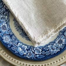 diy no sew linen napkins on sutton place