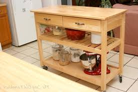 kitchen island diy kitchen island on wheels within remarkable