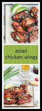 crispy asian chicken wings what should i make for
