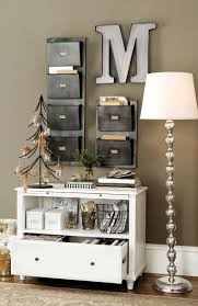 Christmas Decorations Ideas For Home Decorating Work Office Space Stylish Home Office Christmas