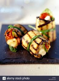 how to canapes how to create the canapes chargrilled aubergine bundles