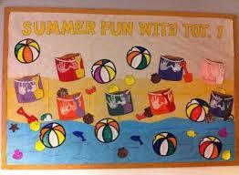 Preschool Bulletin Board Decorations 88 Best Summer Bulletin Boards Images On Pinterest