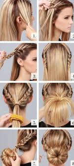 Frisuren F Mittellange Haare Mit Anleitung by Festliche Hochsteckfrisuren Für Mittellange Haare Mode Frisuren