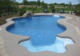 Unique Pool Ideas by Swimming Pool Inground Swimming Pool Kits With Stoned Wall Pool