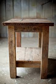 Kitchen Island With Table Reclaimed Wood Kitchen Island Reclaimed Wood Farm Table