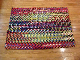 braided rug 32 x 42 rectangle wool braided rug country braid house