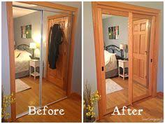 Closet Door With Mirror Create A New Look For Your Room With These Closet Door Ideas