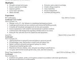 Resume Examples For Laborer Sample Resume For Landscaping Laborer Download Landscape Resume