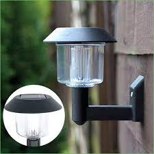 lighting backyard string lights post led yard post lights
