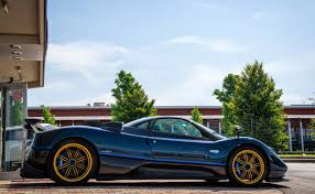 pagani dealership pagani zonda tricolore on a quest for the best
