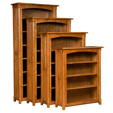 Wooden Bookshelves Pictures by Amish Bookcases Amish Furniture Shipshewana Furniture Co