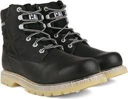 buy boots flipkart cat beacon boots for buy black color cat beacon boots for