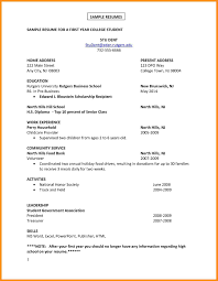 How To Type Up A Resume 6 How To Write A Cv For First Job Parts Of Resume