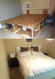 Platform Bed Frame Diy by Diy Platform Bed Diy Platform Bed Platform Beds And Bedrooms