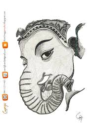 gallery pencil sketches of lord ganesh drawing art gallery