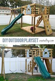 Backyard Adventures Price List Best 25 Diy Playground Ideas On Pinterest Simple Playhouse