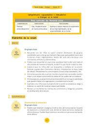 unidades y sesiones de aprendizaje comunicacion minedu rutas sexto grado unidad 1 sesión 05 pídeles que observen la página 10