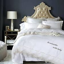 Cotton Bed Linen Sets - lace duvet covers set u2013 de arrest me