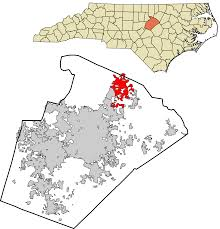 Winston Salem Zip Code Map by Wake Forest North Carolina Wikipedia