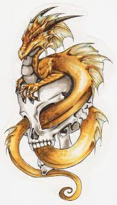 tattoo dragon water collection of 25 dragon emerging from water waves tattoo design