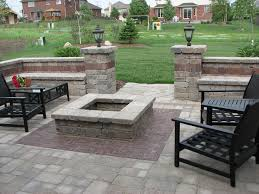 Square Fire Pit Kit by Fire Pit Kits Patio Traditional With Armortec Backyard Paving