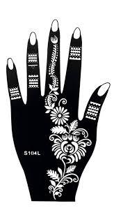 henna tattoo schablone vorlage 8 sheet fleur 8 henna bemalung