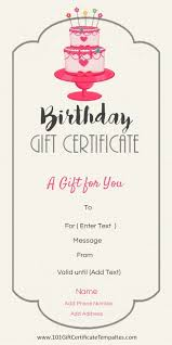 25 unique gift certificate maker ideas on pinterest gift