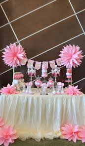 Buffet Table Decor by Best 20 Pink Candy Buffet Ideas On Pinterest Pink Candy Table