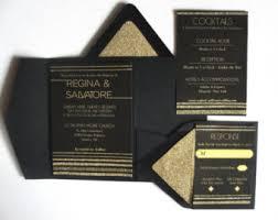 Wedding Pocket Envelopes Custom Designed Invitations U0026 Stationery By Punchpaper On Etsy