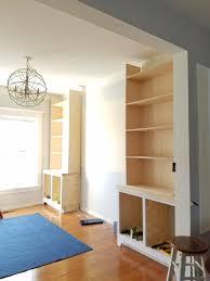 remodelando la casa the shelves built ins part 4