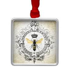 vintage bee ornaments keepsake ornaments zazzle