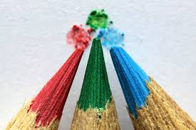 colorful pencils wallpapers wallpaper colored pencils sharp close up hd picture image