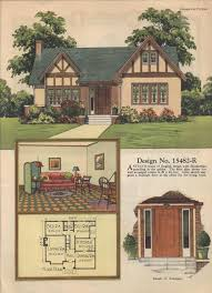 Tudor Style House Plans Colorkeed Home Plans Radford 1920s Vintage House Plans 1920s