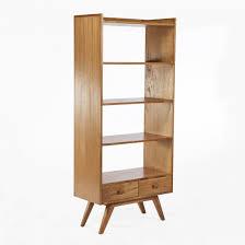 mid century modern tall kasse bookshelf