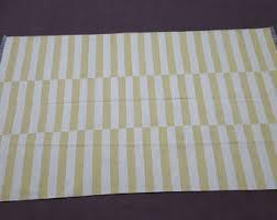 Yellow Striped Rug Striped Kilim Rug Etsy