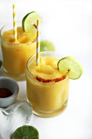 mango margarita recipe frozen mango margarita with chili salt rim
