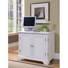 Computer Desk Styles Home Styles Naples Compact Computer Desk In White Finish Walmart Com