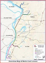 stl metro map metro east levee upgrades near completion st louis radio