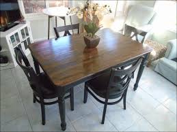 Farmhouse Style Dining Chairs Kitchen Round Farmhouse Kitchen Table Sets Tables Dining Set For