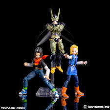 android 18 and cell tamashii nations s h figuarts android 18 vs cell derek stuff