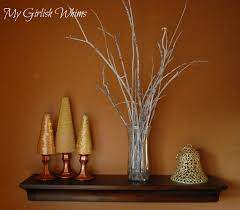 Home Decor Tree Branches Tree Branches Christmas Decor Crafthubs Decorated Shelves Sure Do
