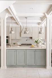 Two Toned Kitchen Cabinets by Painted Kitchen Cabinet Ideas Devils Den Devils Den Info