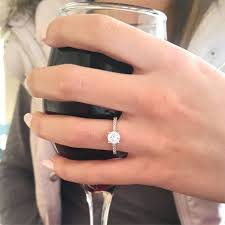 engage diamond ring wedding rings best wedding band for solitaire engagement ring