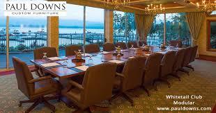 Custom Boardroom Tables Paul Downs Custom Furniture Home Facebook