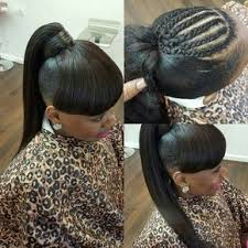 human hair ponytail with goddess braid the 25 best ponytail with weave ideas on pinterest braid styles