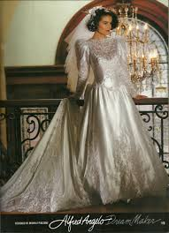 alfred angelo dream maker spring of 1992 1990 u0027s wedding gowns
